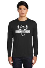 Load image into Gallery viewer, Hooks & Horns Dri-Fit long sleeve
