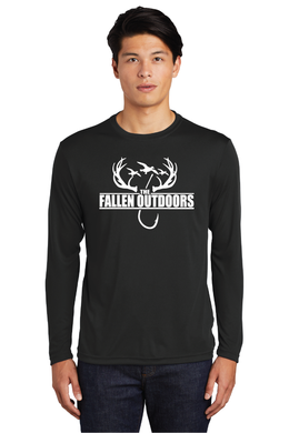 Hooks & Horns Dri-Fit long sleeve