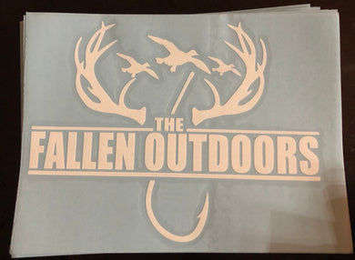 Hooks and Horns Decal