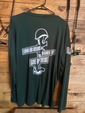 Classic log long sleeve dri fit