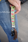 Design Your own Cactus Leather Keychain