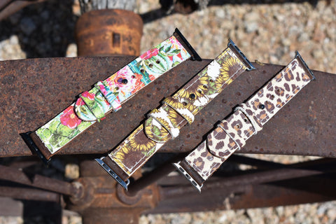 Urban Cowgirl Apple Watch Bands!