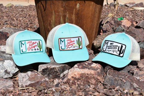 Ladies fit mint color snap back hat