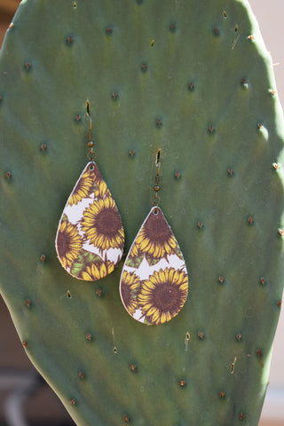 The Tucson Sunflowers Print