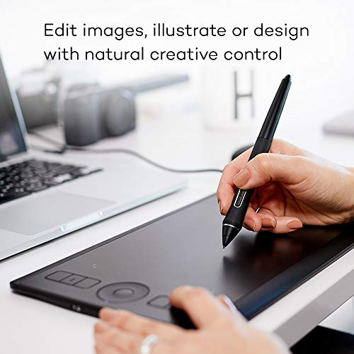 Wacom Intuos Pro Digital Graphic Drawing Tablet for Mac or PC, Small  (PTH460K0A) New Model