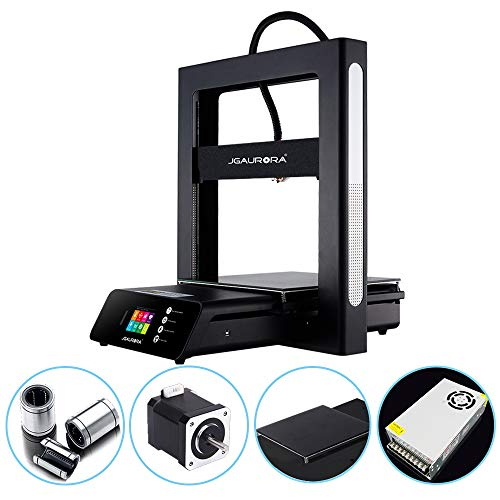 JGAURORA Upgraded A5S 3D Printer Stable Working Large Print Size  12X12X12 6in
