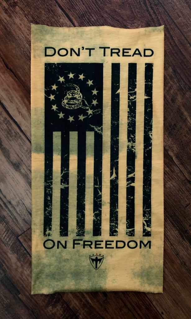 Don't Tread on Freedom Multi-Use Bandana Face Shield