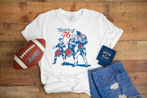 Spirit of 76 Football Tee