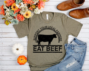 Support Farmers Eat Beef
