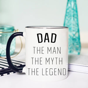 Dad-The Man-The Myth-The Legend Coffee Mug