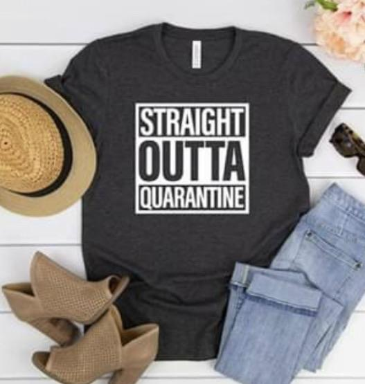 Straight Outta Quarantine White