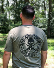 Load image into Gallery viewer, 2nd Amendment Skull T-Shirt