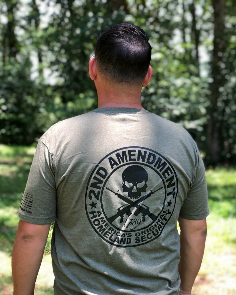 2nd Amendment Skull T-Shirt