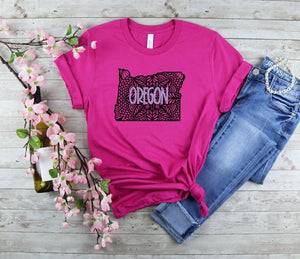 Oregon Mandala Tee