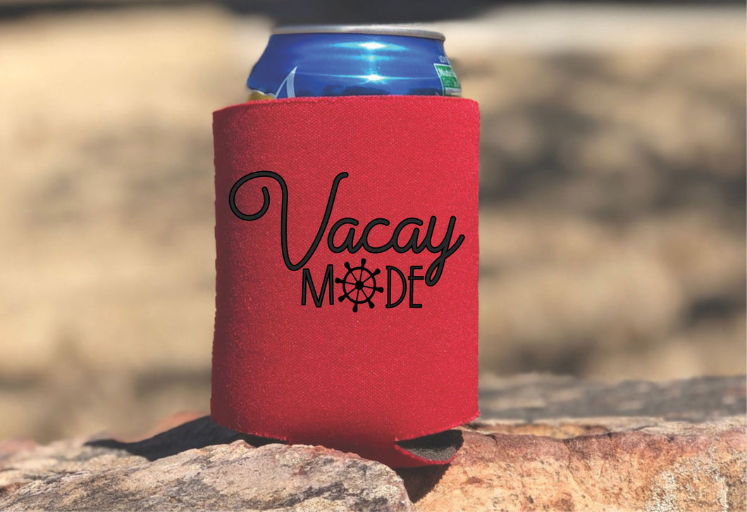 Vacay Mode Insulated Can Holder
