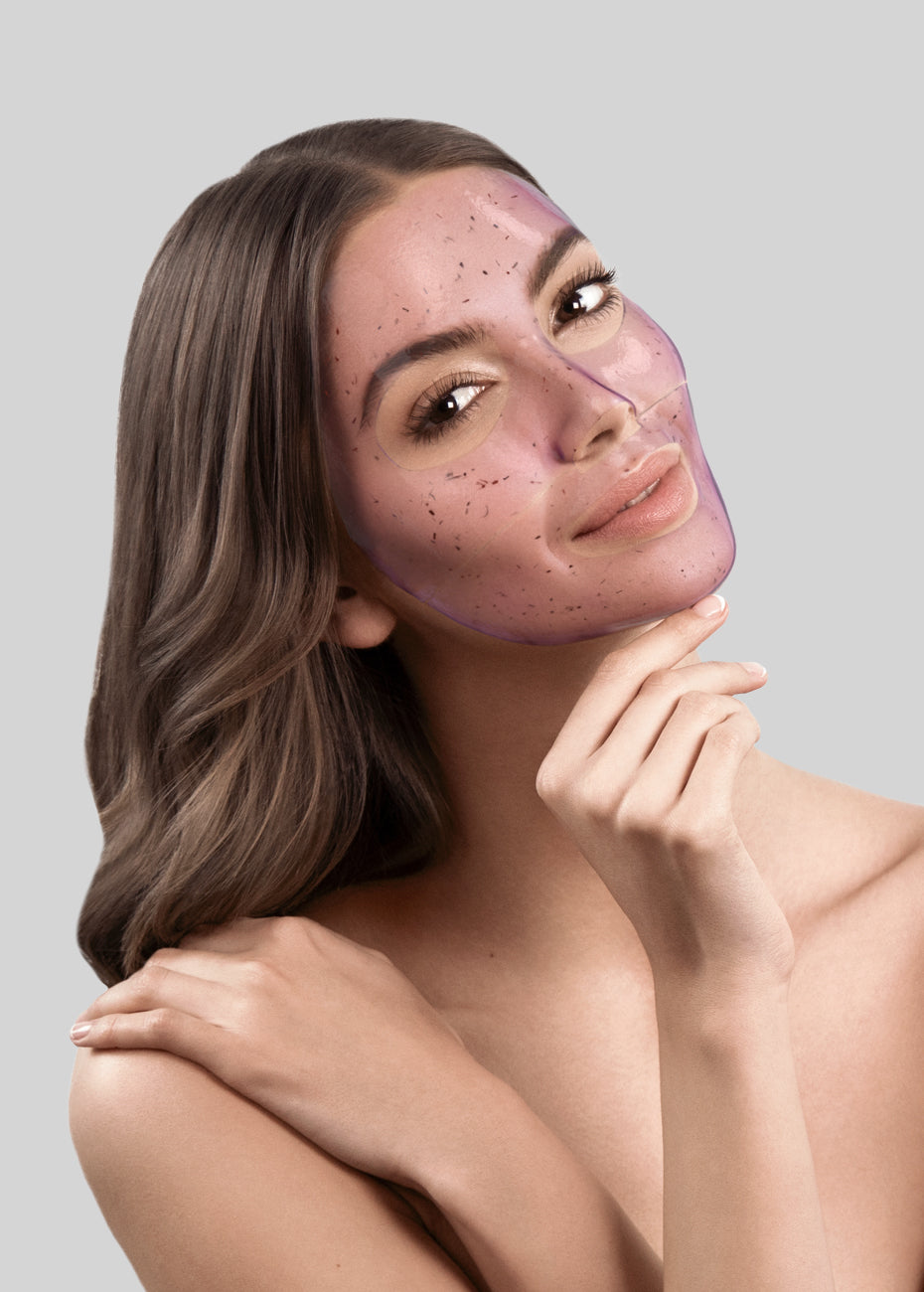 Lavender Youth Miracle Hydrogel Mask