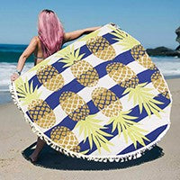 Pineapple Beach Throw
