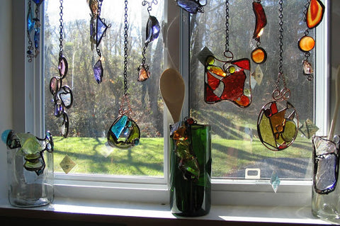 How to make stained glass windows panel?