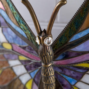 Butterfly stained glass lamp new house gift Tiffany lamp wall sconce lighting nursery wall decor
