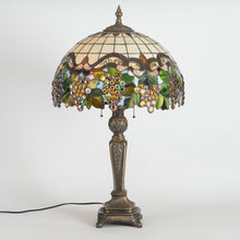 Load image into Gallery viewer, Grapes stained glass lamp shade