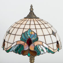 Load image into Gallery viewer, Tiffany stained glass lamp Art nouveau lamp gift for mom bedroom night light