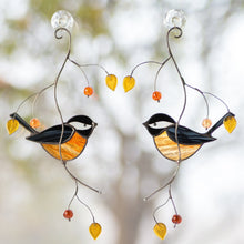 Load image into Gallery viewer, Pair of Black Chickadees