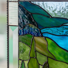 Load image into Gallery viewer, Zoomed stained glass cape Breton highlands national park