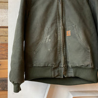 Hooded Carhartt Jacket - Medium