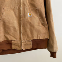 90's Thermal Lined Carhartt Zip - Large