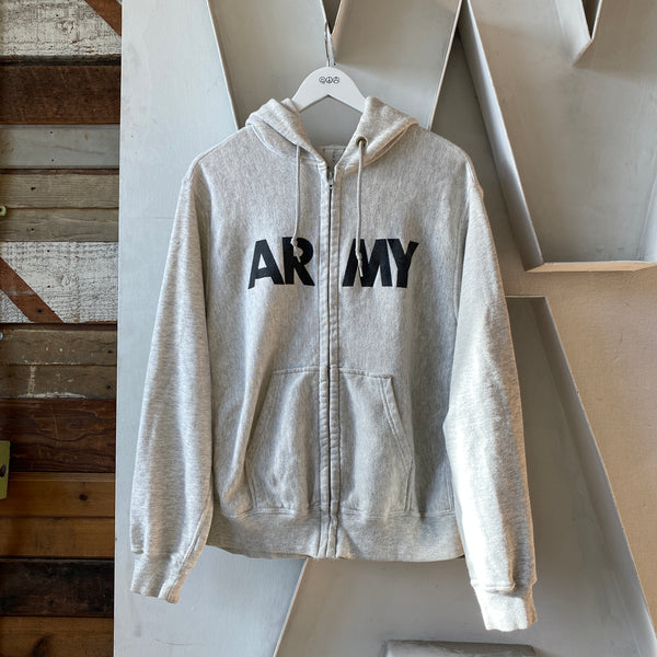 80's Army Zip Sweat - Large