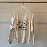 80's Fraternity Crewneck - Large