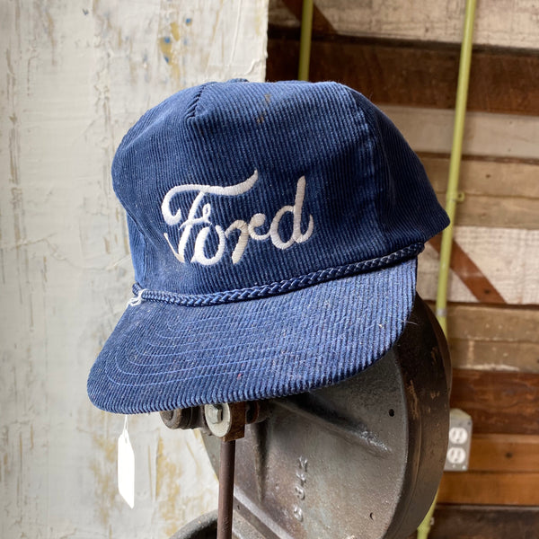 80's Ford Corduroy Trucker Hat
