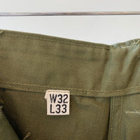 "40's WWII Deadstock HBT Trousers - 31"" x 33"""