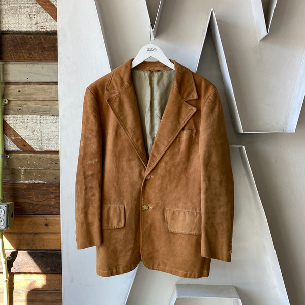 70's Abercrombie & Fitch Suede Blazer - Small (38s)