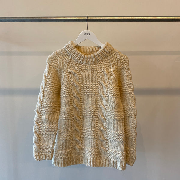 Chunky Knit Sweater - Medium