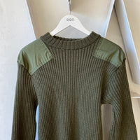 80's Military Sweater - Large