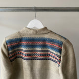 60's Traditional Norwegian Chore Coat - Small