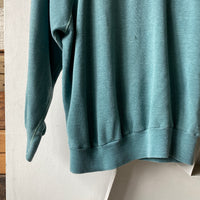 60's Green/blue Crewneck - M/L