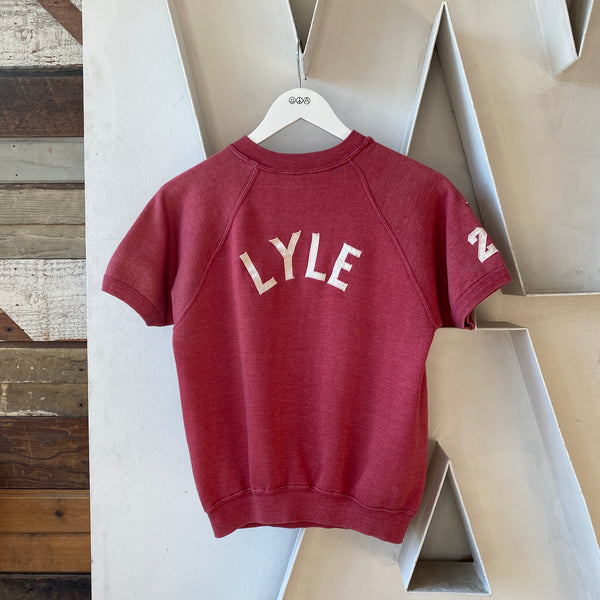 60's Lyle Short Sleeve Sweat - Small/Medium