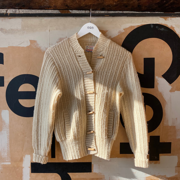 60's Pendleton Toggle Cardigan - Small