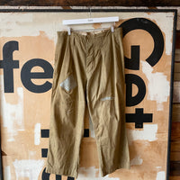 "30's Repaired Japanese Trousers - 35"" x 25"""