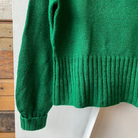50's Turtle Neck Sweater - XL/Large