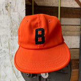 80's B Orange Cap - Small