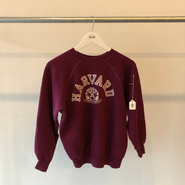 70's Harvard Champion Blue Bar Sweatshirt - Small