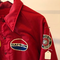 80's Datsun Swingster Coaches Jacket - Large