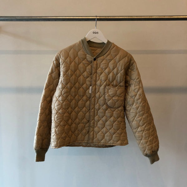 70's Quilted Liner Jacket - Small