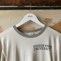 70's OSU Grey Ringer - Medium
