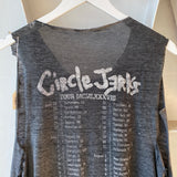 80's Circle Jerks Cut Off - Large