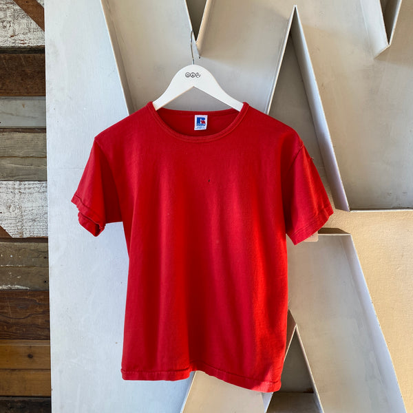 80's Red Russel Shirt - Women's Medium