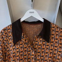 70's Patterned Top - Small
